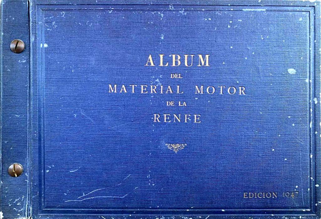 Albom del material motor de la RENFE