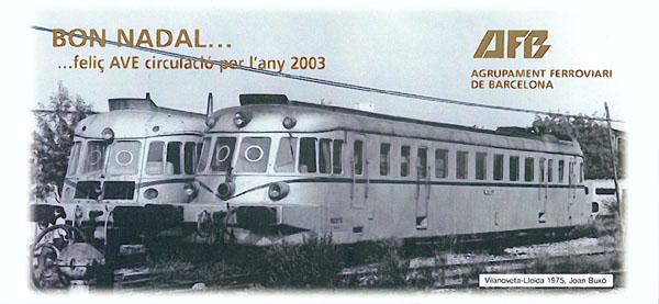 Felicitació 2002