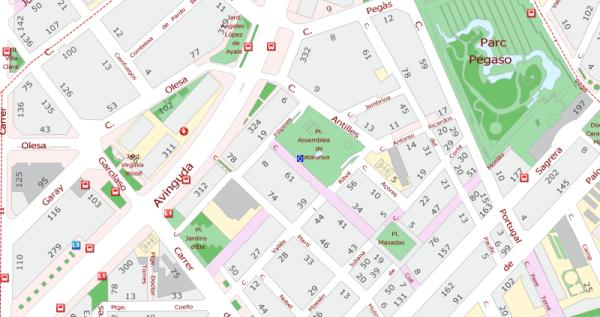 Aj BCN plaça Assemblea de Catalunya