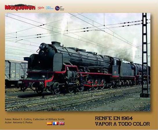 MAQUETREN·Renfe en1964 Vapor a todo color