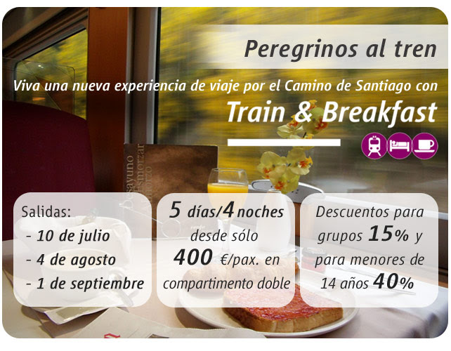 RENFE Train & Breakfast Camino Santiago00
