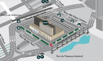 Adif Barcelona Sants Estacio