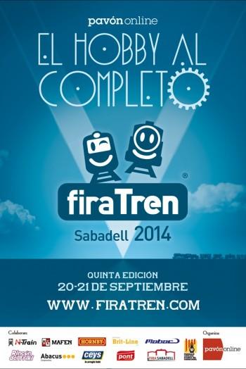 Pavon FiraTren 2014 Cartel