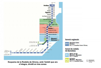 ATM Girona· mapa zones