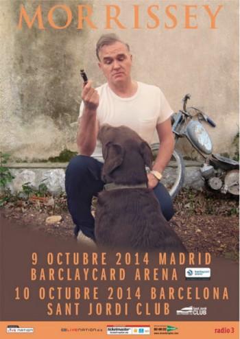 Morrissey-concierto-Madrid-Barcelona-2014