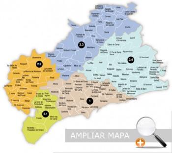 ATM Camp de Tarragona · planolzones