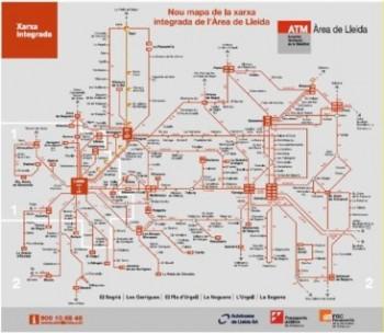 GenCat TES ATM Lleida mapa
