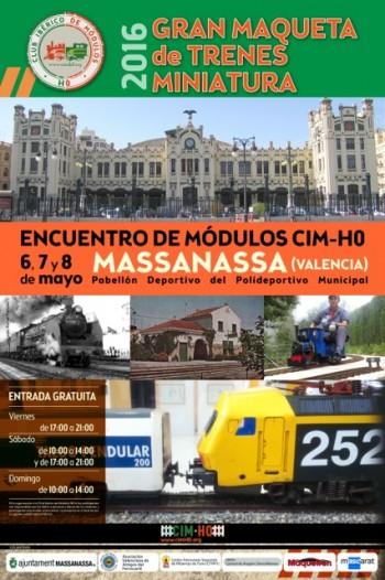 II Encuentro de módulos CIM H0 6,7,8 de mayo 2016 Massanassa Valencia