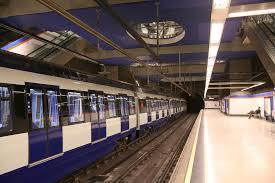 Metro Madrid Andenes